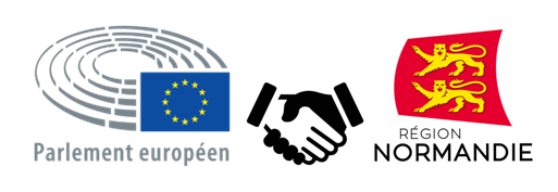 parlement europeen normandie logo partenariat