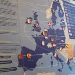 drapeaux carte Europe